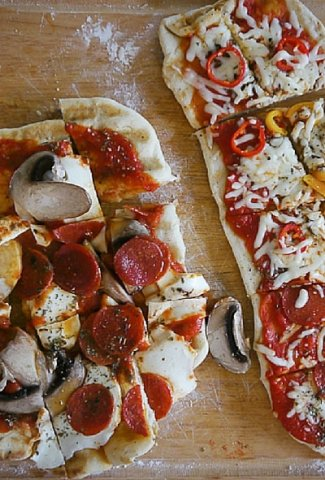 how to make grilled pizza!