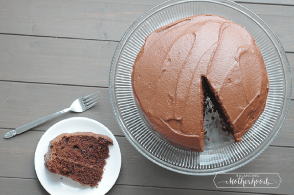 chocolate sweet potato frosting