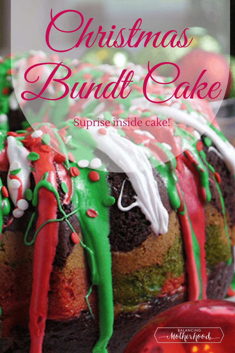 Christmas bundt cake recipe