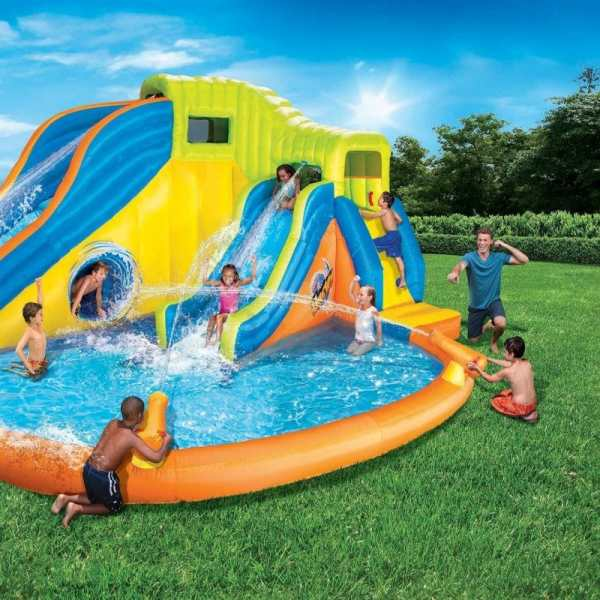 Inflatable Slide Water Park