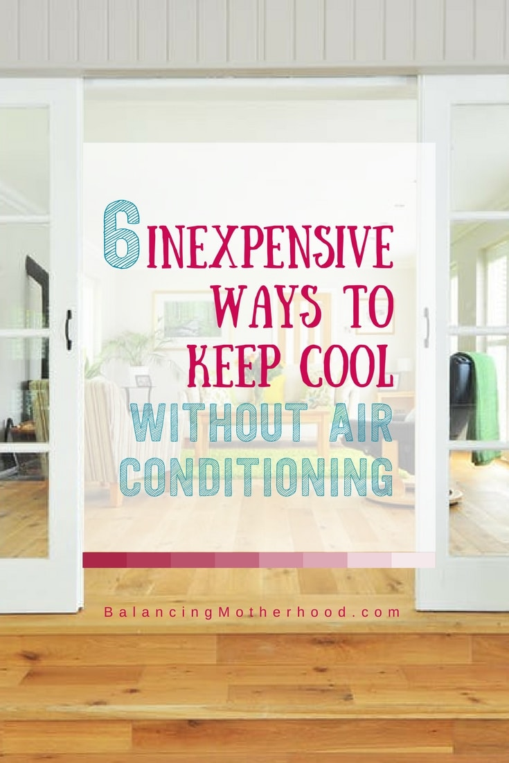 keep cool without air conditioning