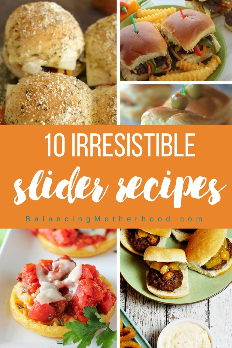 10 irresistible slider recipes