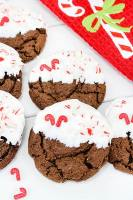 Chewy Chocolate Peppermint Cookies Featured Image