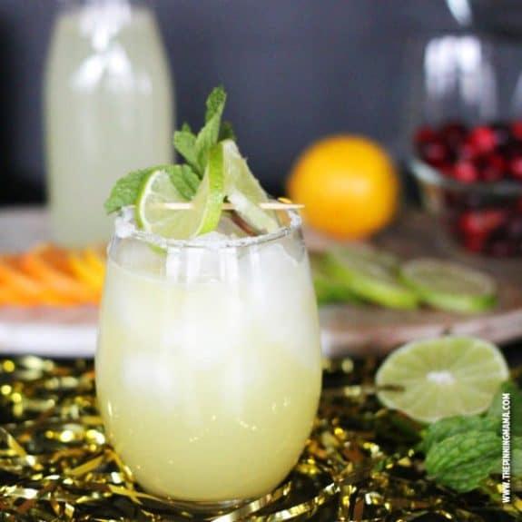 non-alcoholic margarita recipe for holiday mocktails