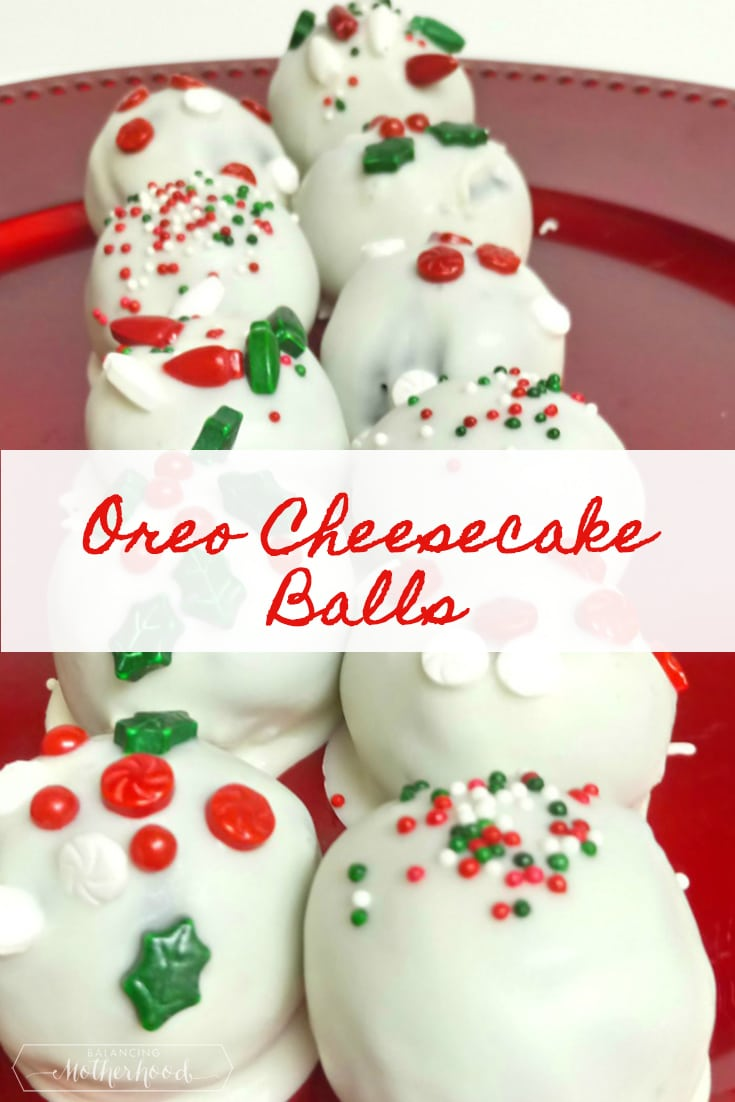 Oreo Cheesecake Balls recipe