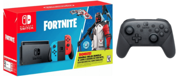 Fortnite switch gaming console