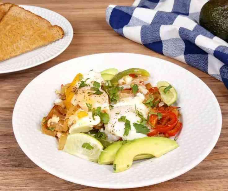Fajita Breakfast Casserole