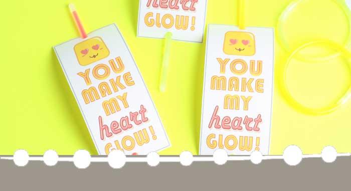 Glow Stick Valentines: Simple DIY Valentines for Kids