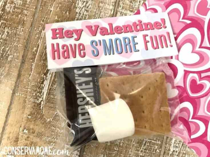 S'mores Free Valentine's Day Craft Printable