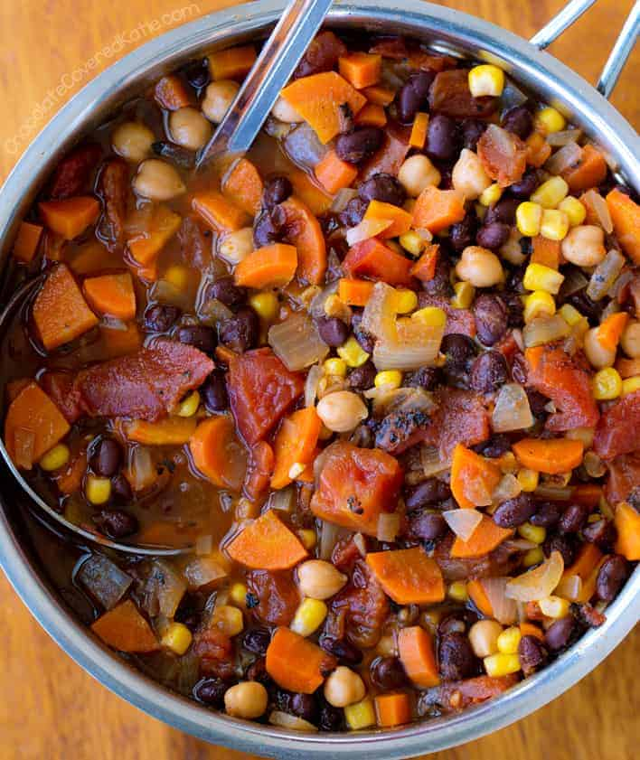 Vegetarian Chili - The BEST Easy Recipe!
