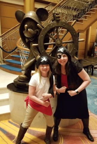 Ideas of how to dress up for Disney's pirate night. | BalancingMotherhood.com