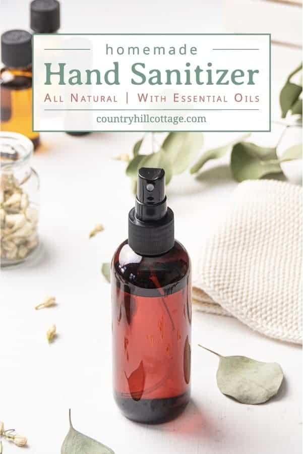 DIY Hand Sanitizer – Homemade Hand Rub with Essential Oils
