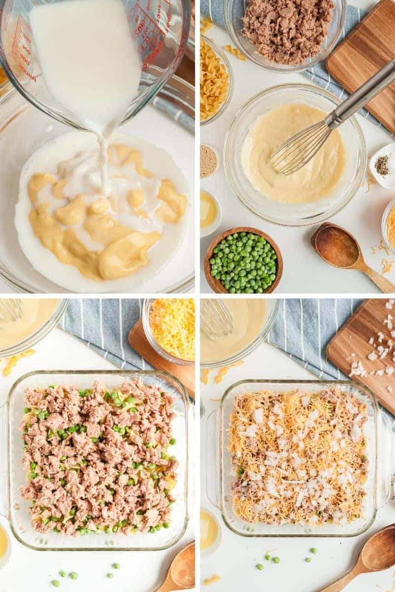 steps to make tuna casserole