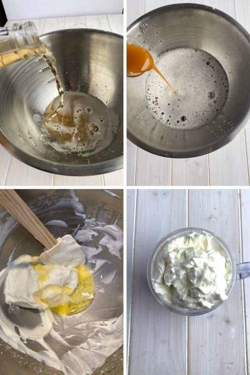 making butterbeer