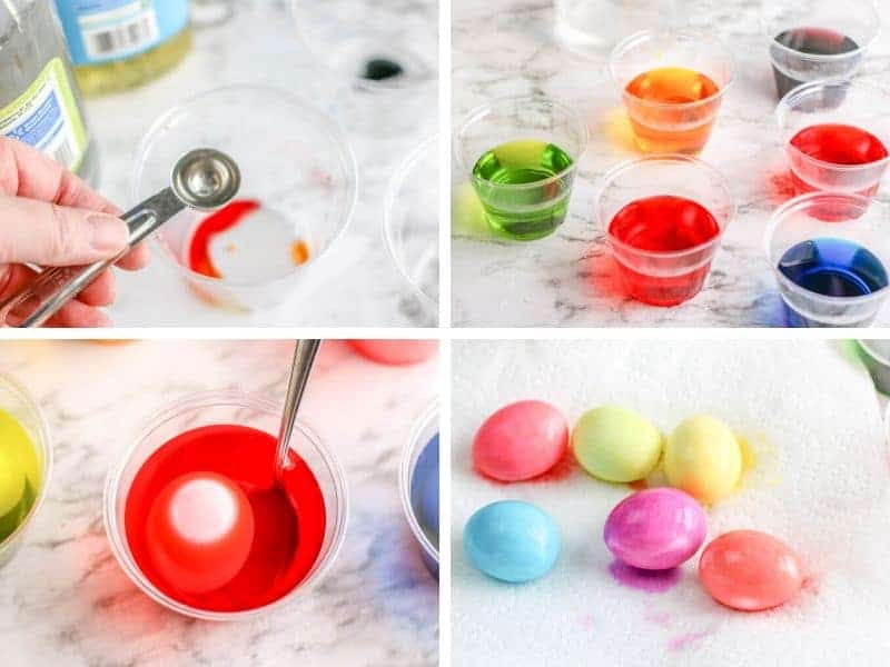 making marble eggs