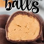 peanut butter ball cut in half
