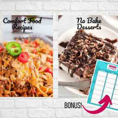 Comfort Food and No Bake Desserts Bundle