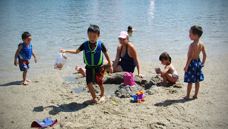 A Toddler's Favorite - Mother's Beach