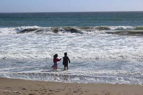 San Simeon State Beach Splash
