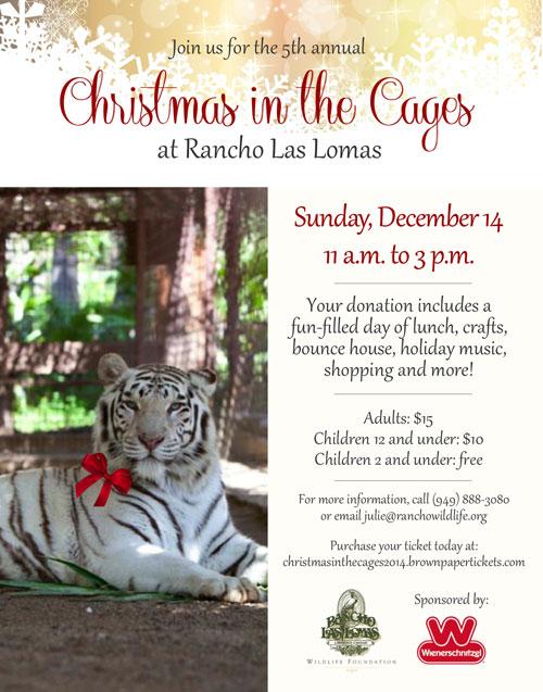 Christmas At The Cages, Rancho Las Lomas