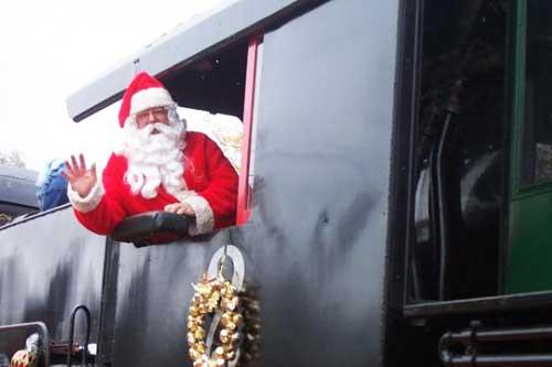 Orange Empire Railway Museum Santa Train