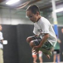 Jumping Brother fun