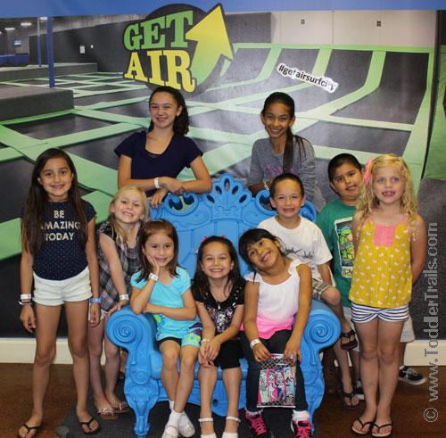 Get Air Surf City Trampoline Park, Trampoline Park Birthday, Huntington Beach Trampoline Park