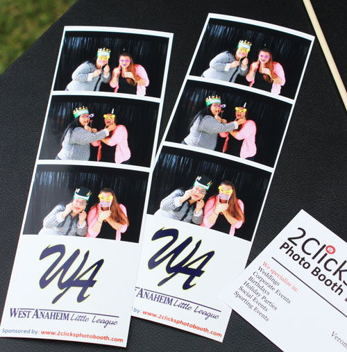 Personalized Photo strips, 2 clicks photo booth