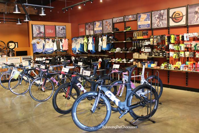 Endurance House Orange County, Aliso Viejo, Bike sizing