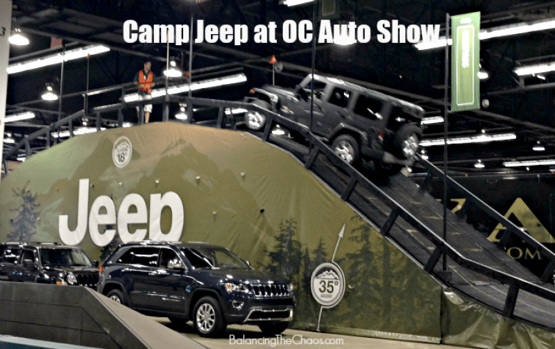 Camp Jeep at OC Auto Show