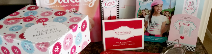 American Girl Williams Sonoma Madeleine Bakeware Set