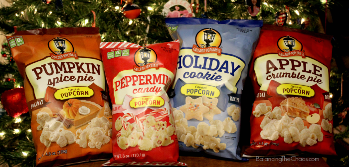 Gaslamp Popcorn Holidays, Holiday snacking