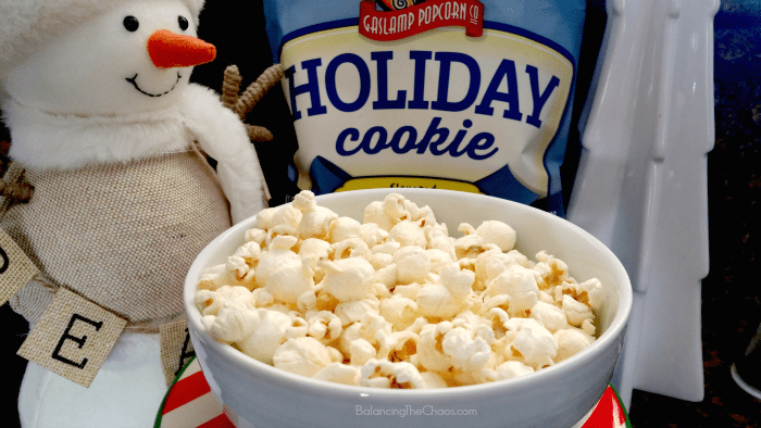 Holiday Cookie Popcorn Gaslamp Popcorn Holiday Snacking