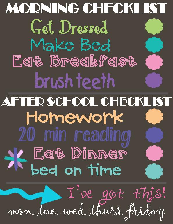 Girls-Daily-Check-List