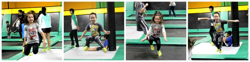 Kids Jumping at Rockin Jump Santa Ana
