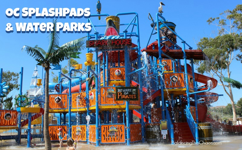 Orange County Splash Pads and Water Parks Opened For Summer 2018