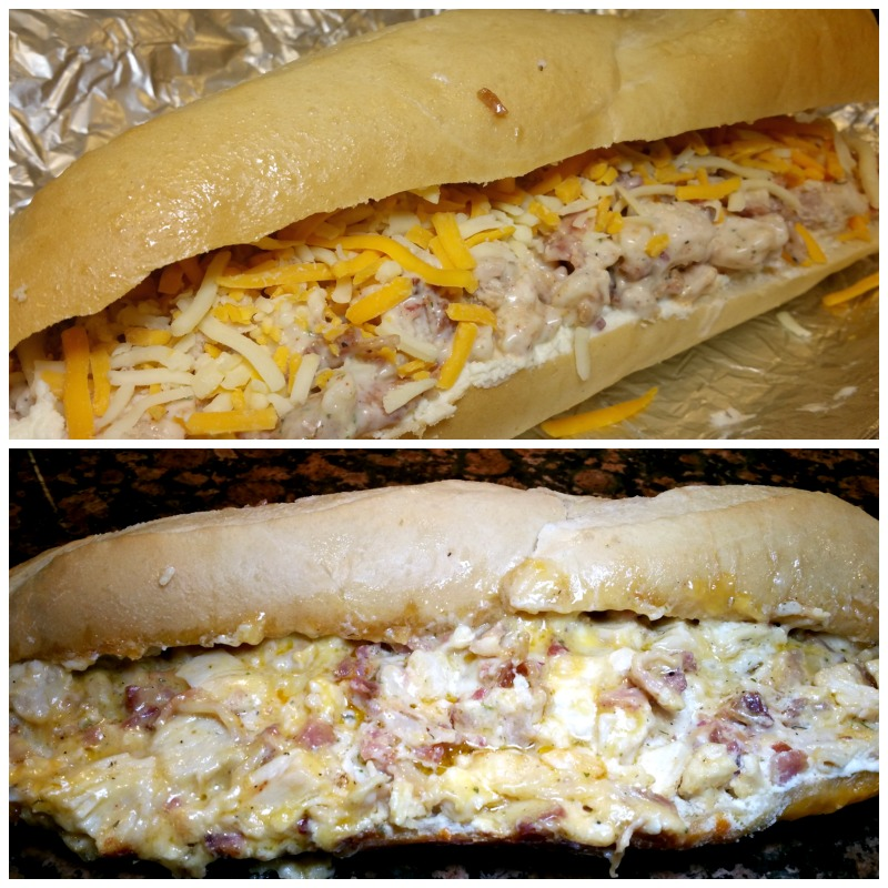 Dream Dinners Chicken Bacon ranch Stuffed French Bread