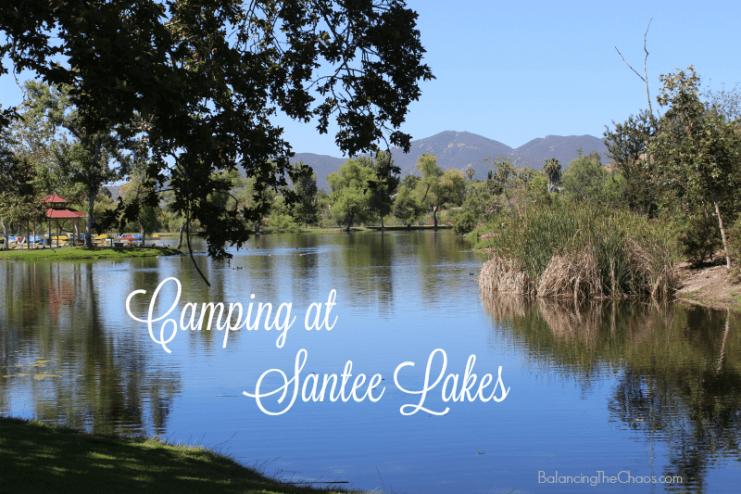 Camping at Santee Lakes