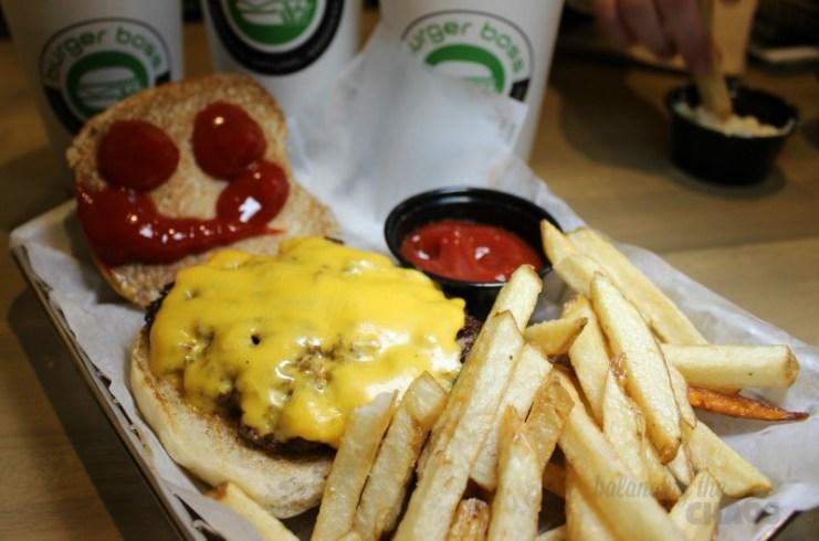 Burger Boss Cheeseburger