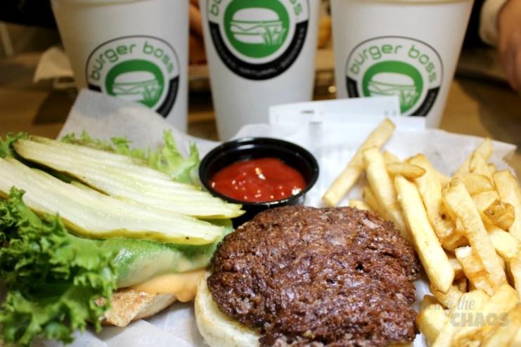Burger Boss Kids Meal Hamburger
