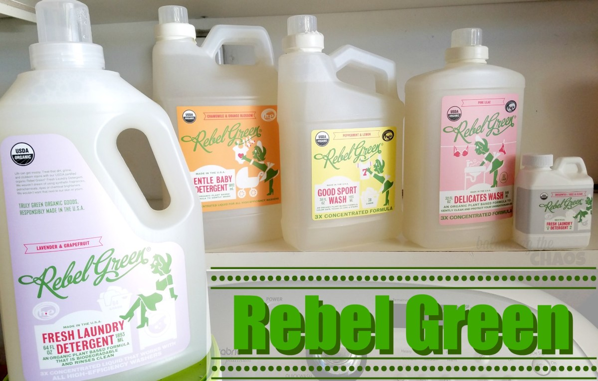 A Natural Clean with Rebel Green + Giveaway | @RebelGreenllc #RebelClean #RebelLaundry #RebelWash