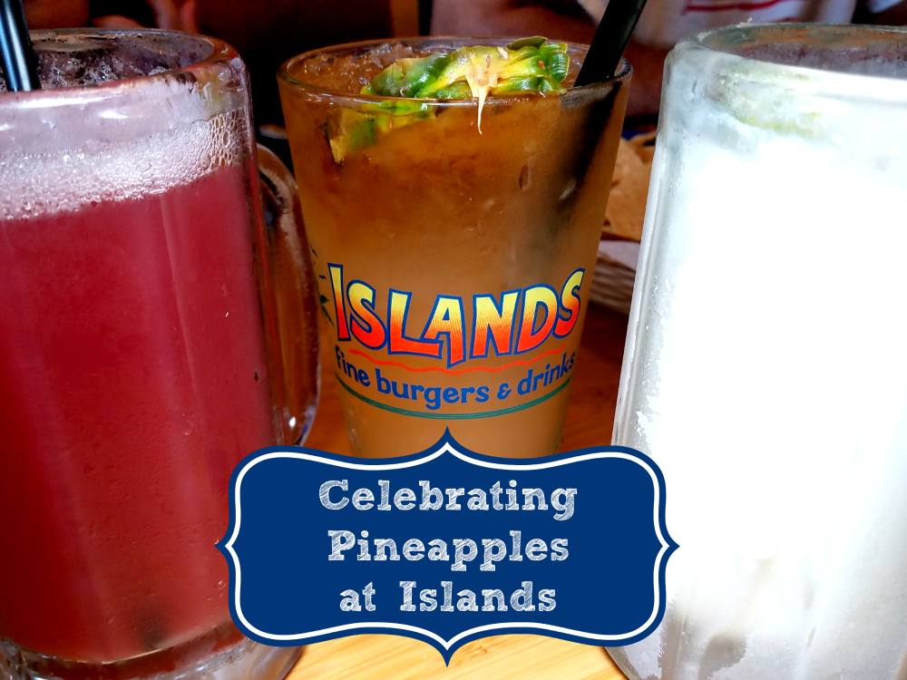 Say Aloha to Pineapple Pairing Menus at Islands Restaurants | @IslandsBurgers #PineappleParadise #IslandsBurgers