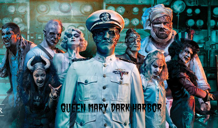 The Queen Mary Dark Harbor Ultimate Scream Experience Ticket | @TheQueenMary