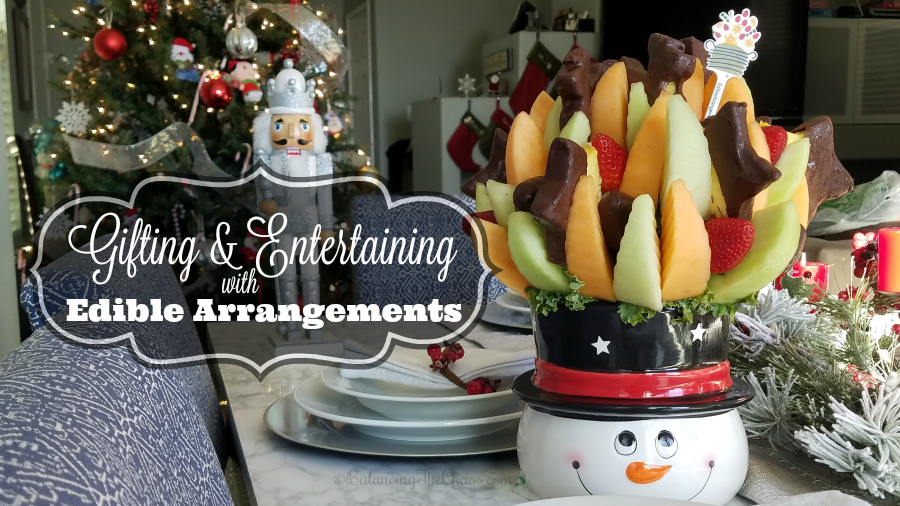 Gifting And Entertaining with Edible Arrangements