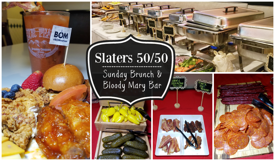 Sunday Brunch And Bloody Mary Bar Now Served at Slaters 50/50 Anaheim