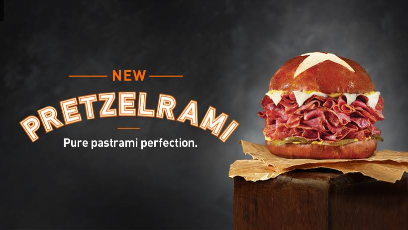 GIVEAWAY: The New Pretzelrami at Togo's
