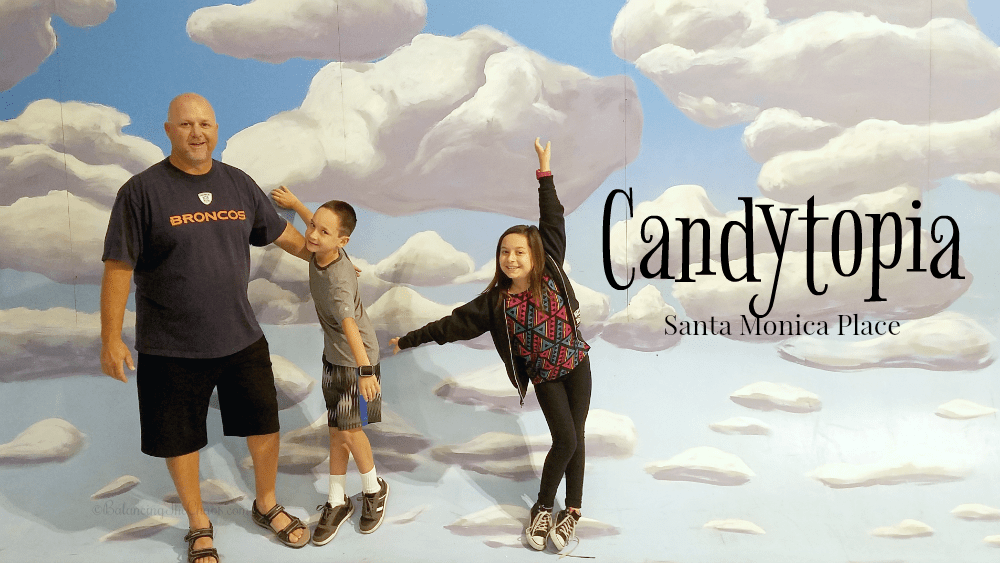 Candytopia Exhibition at Santa Monica Place