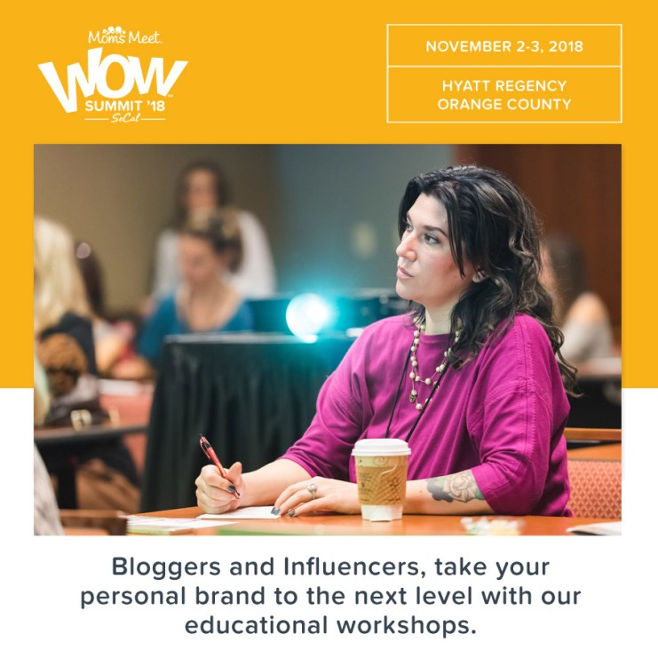 WOW Summit 2018 For Moms and Bloggers