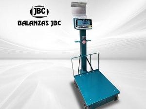 Balanzas Electromecánicas con Ruedas Marca JADEVER Modelo JWI 710B 500KG
