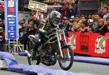 NIEC Rasa Dollar Tarungkan Exo Chodox & Eza Chemonk di Drag Bike Tanjung Pinang, Bawa Motor Yusron